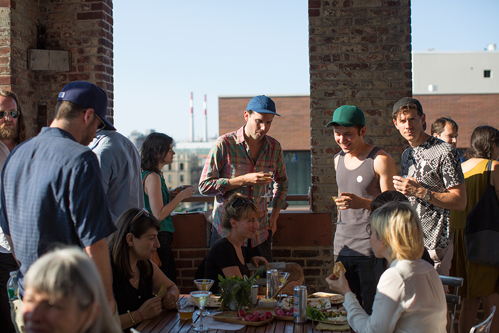 MoMA PS1 Rooftop Salad Party