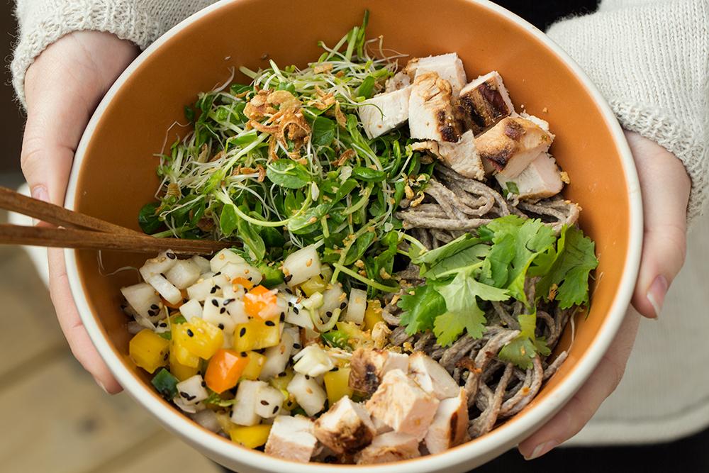 Soba Noodle Salad | SALAD for President