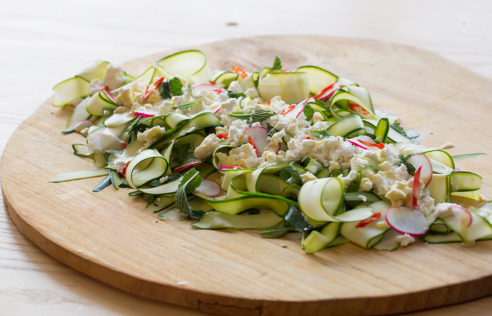 Annas Zucchini Salad SALAD for President