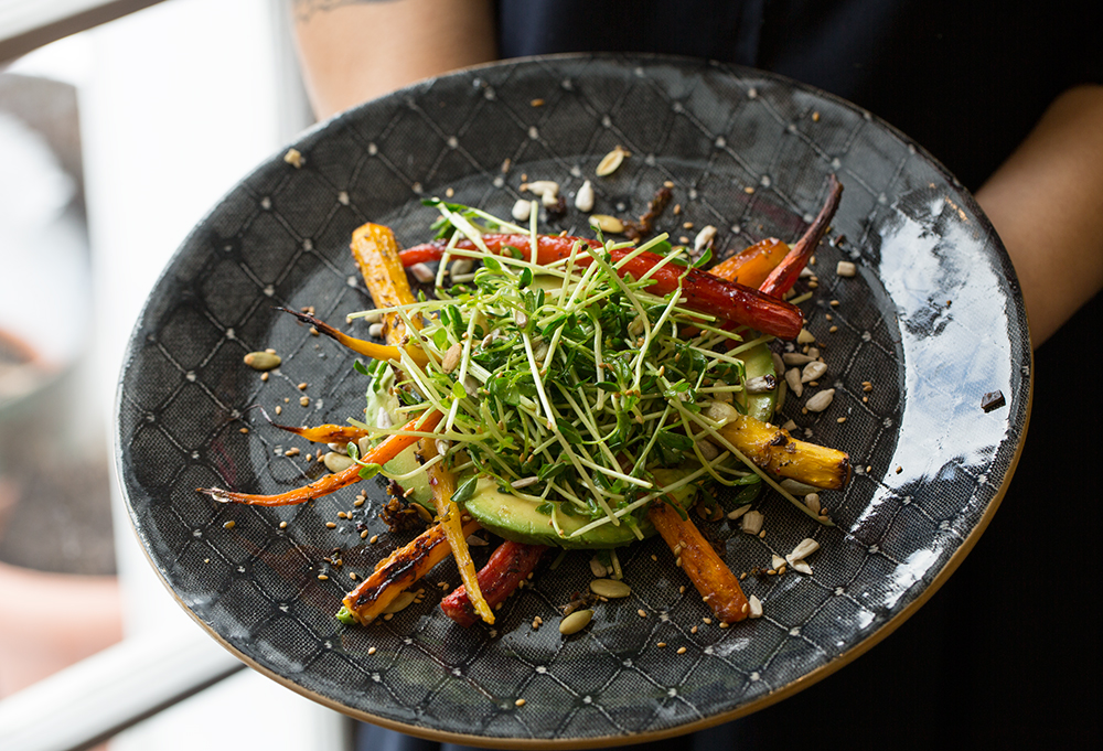ABC Kitchen's Roasted Carrots and Citrus Salad