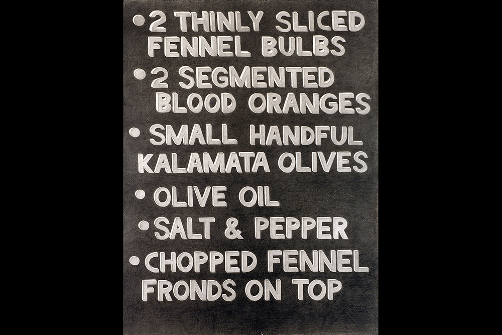 Karl Haendel's Grilled Celery Salad