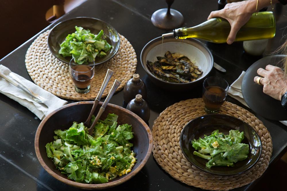 Claire Stansfield's Creamy Farmer's Market Salad
