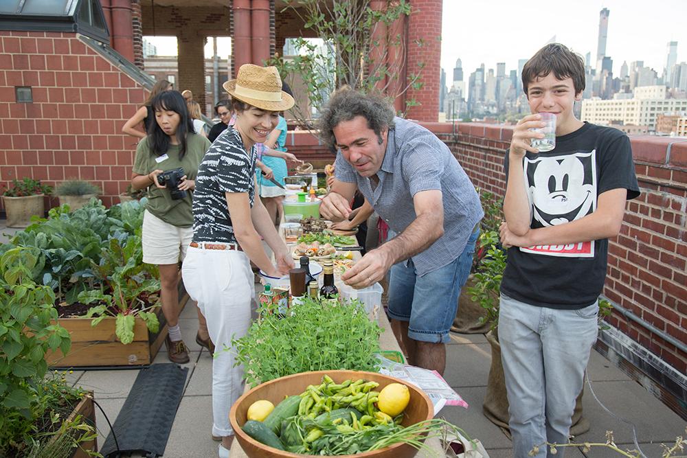 MoMA PS1 Salad Garden Potluck