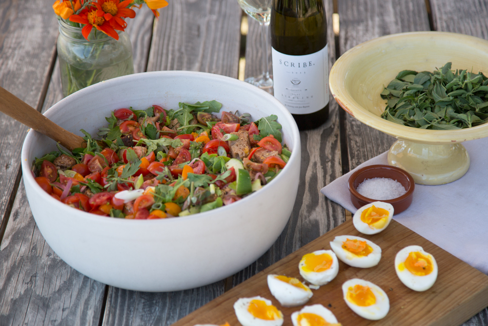 Scribe Winery's End of Summer Panzanella | SALAD for President