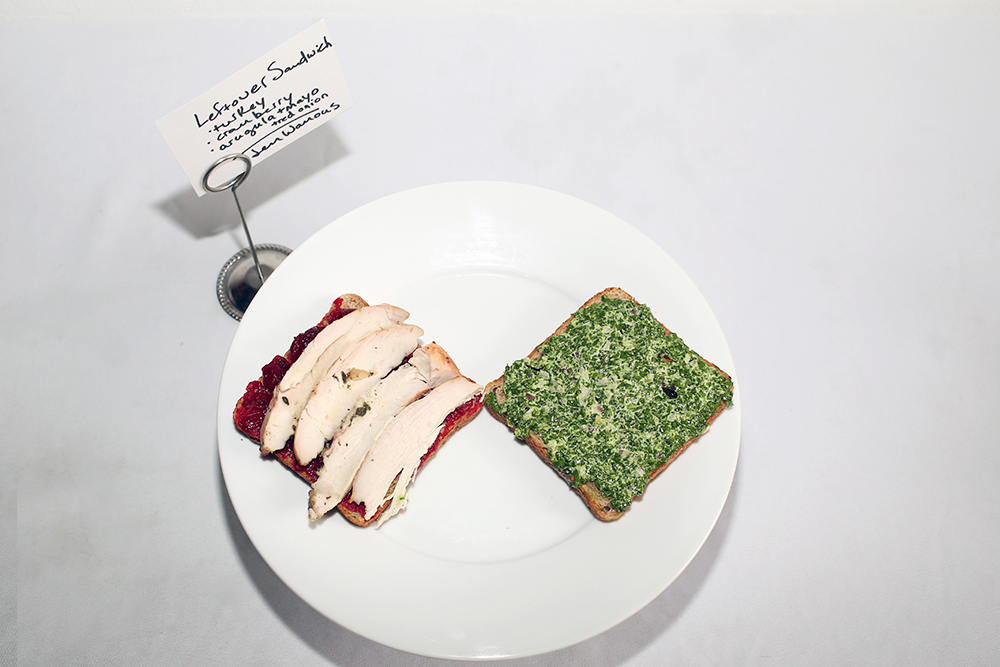 Leftovers Special – A Thanksgiving Sandwich Competition