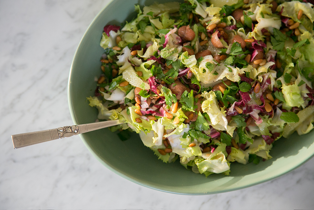 Gillian Ferguson's Slow-Cooked Cranberry Bean and Meyer Lemon Salad