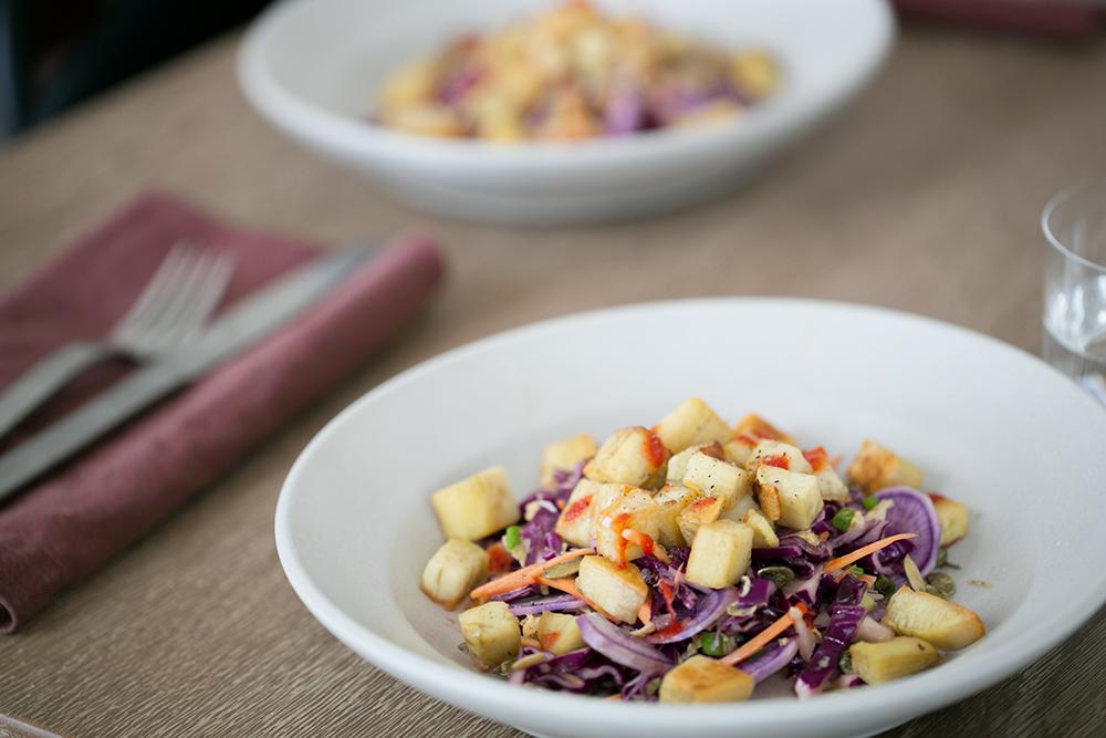 John Houck's Roasted Japanese Sweet Potato Salad