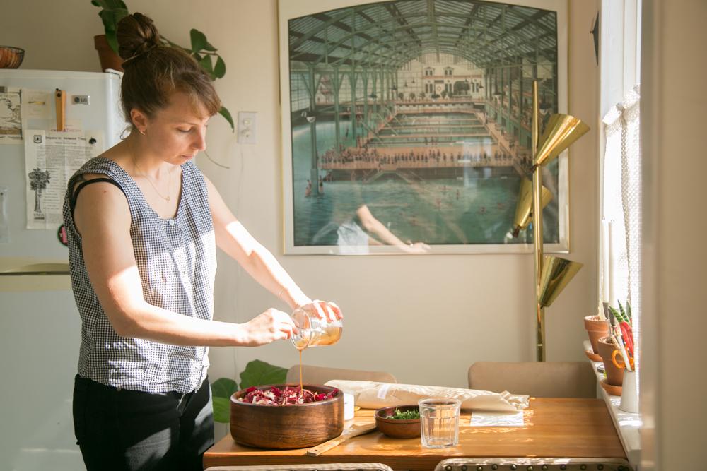 Claire Nereim's Treviso and Blood Orange Salad