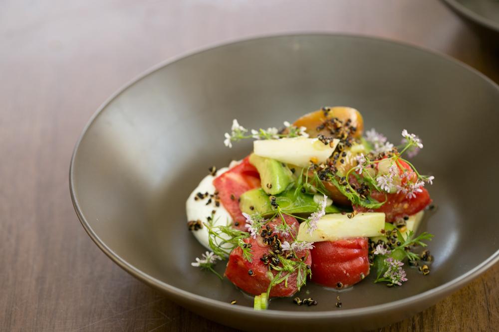Sara Kramer's Broccolini and Kumquat Salad and Israeli Salad