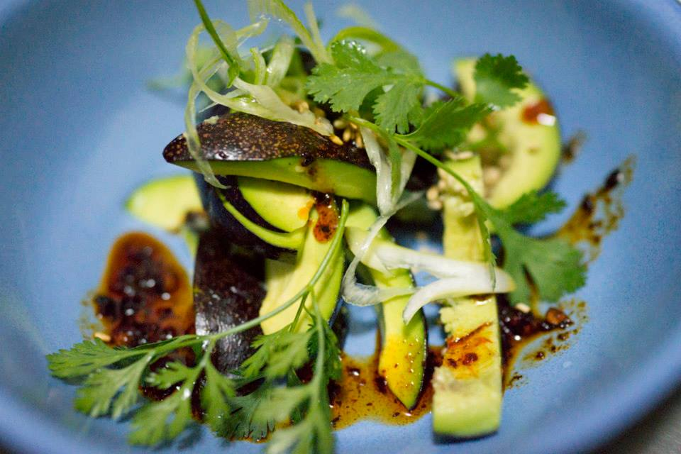 Niki Nakazawa's Mexico City Salad With Avocado Toast and Peanut Chili Salsa