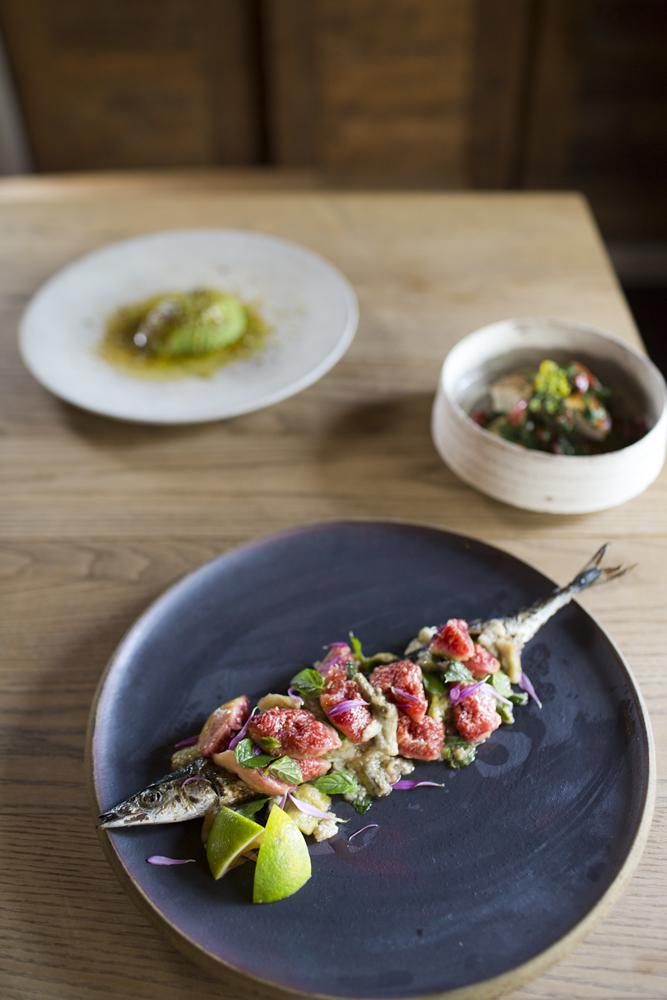 Eatrip's Grilled Mackerel and ricotta Stuffed Avocado ...