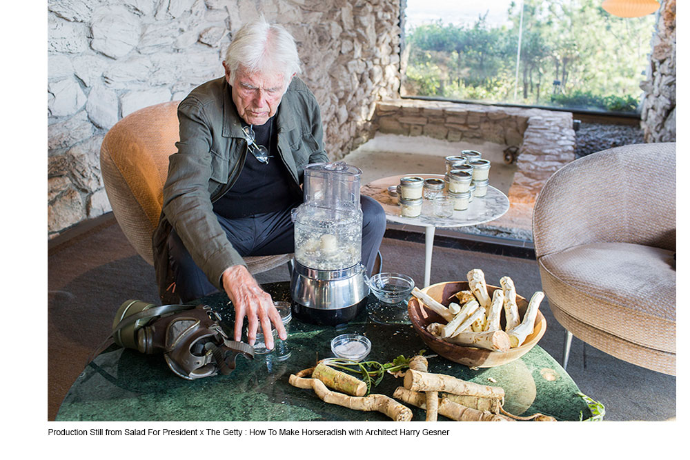 How To Make Horseradish with Architect Harry Gesner