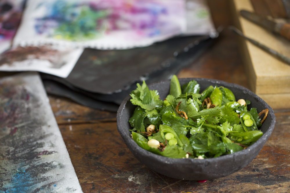 Alma and Su's Cilantro Salad