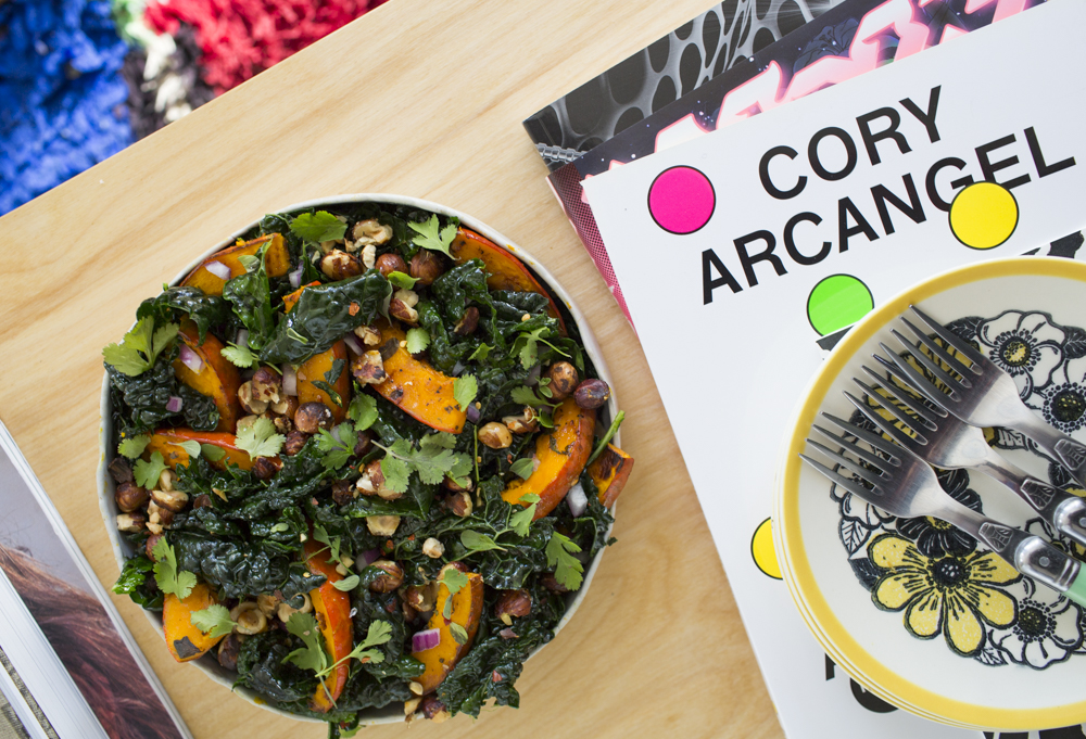 David Kramer and Hayley Magnus' Squash and Kale Salad
