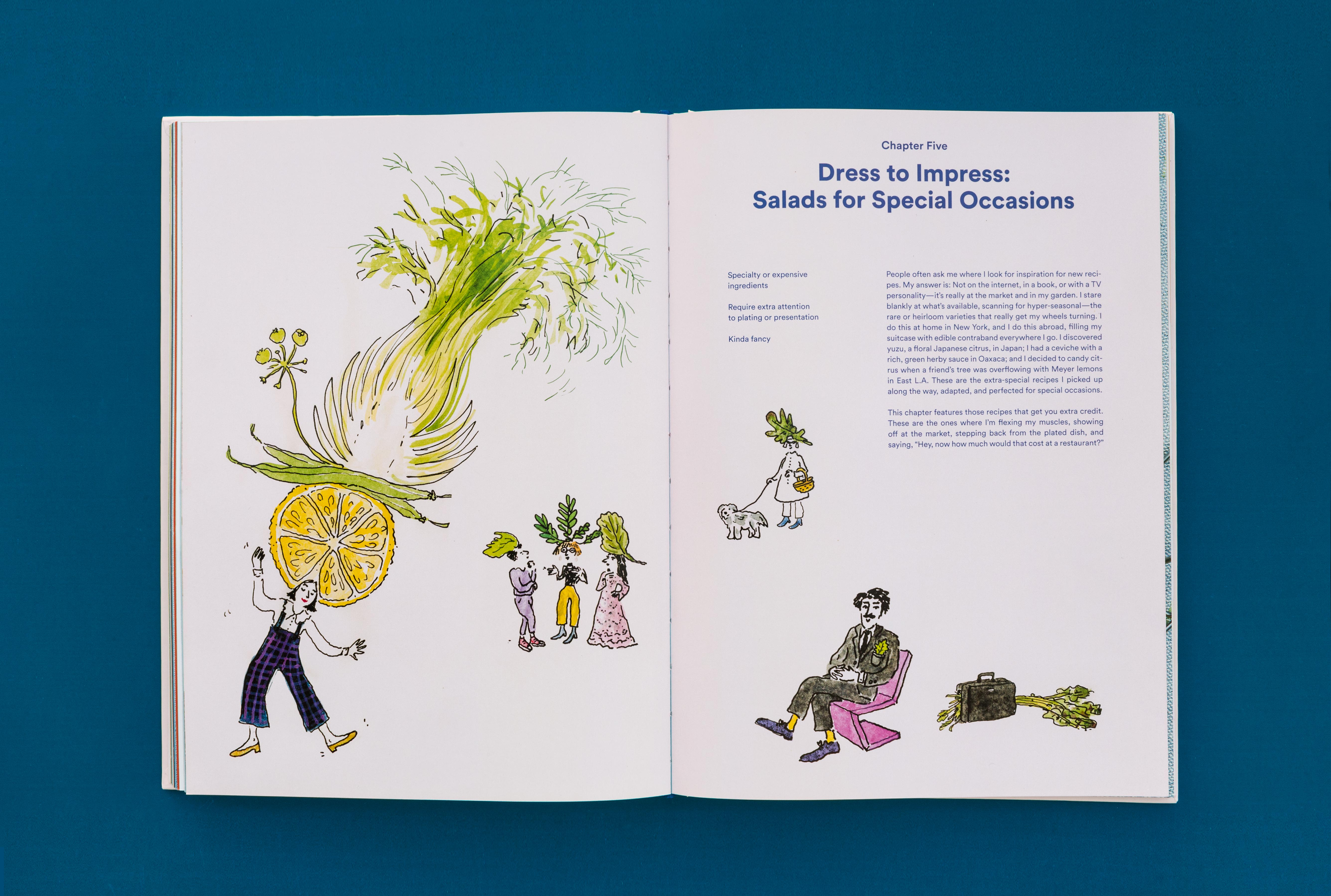 Salad for President: A Cookbook Inspired by Artists: Julia