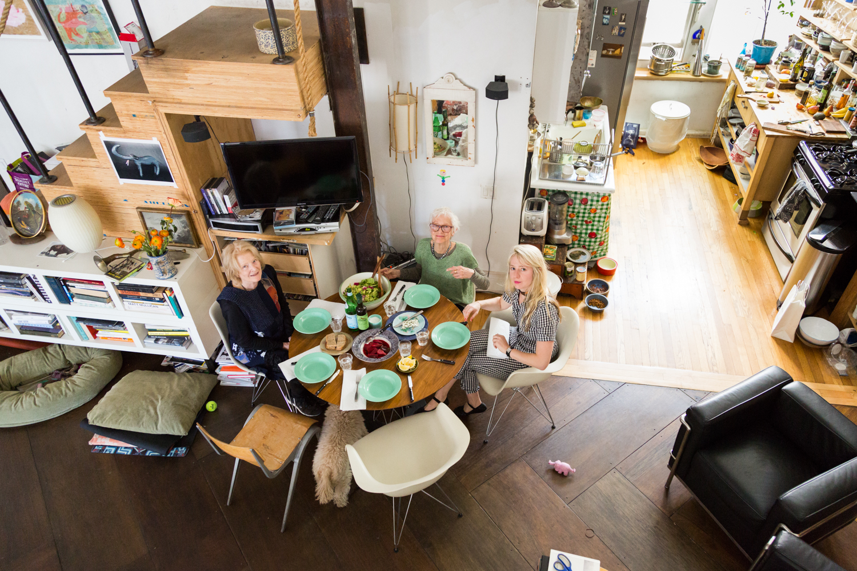 Joana Avillez, Joan Jonas and Gwenn Thomas' Green Salad + Dukkah