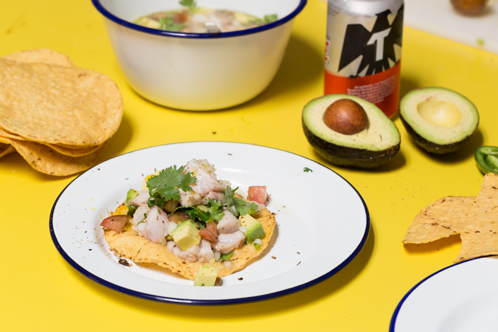 Raul De Nieve's Ceviche with Fermented Lime