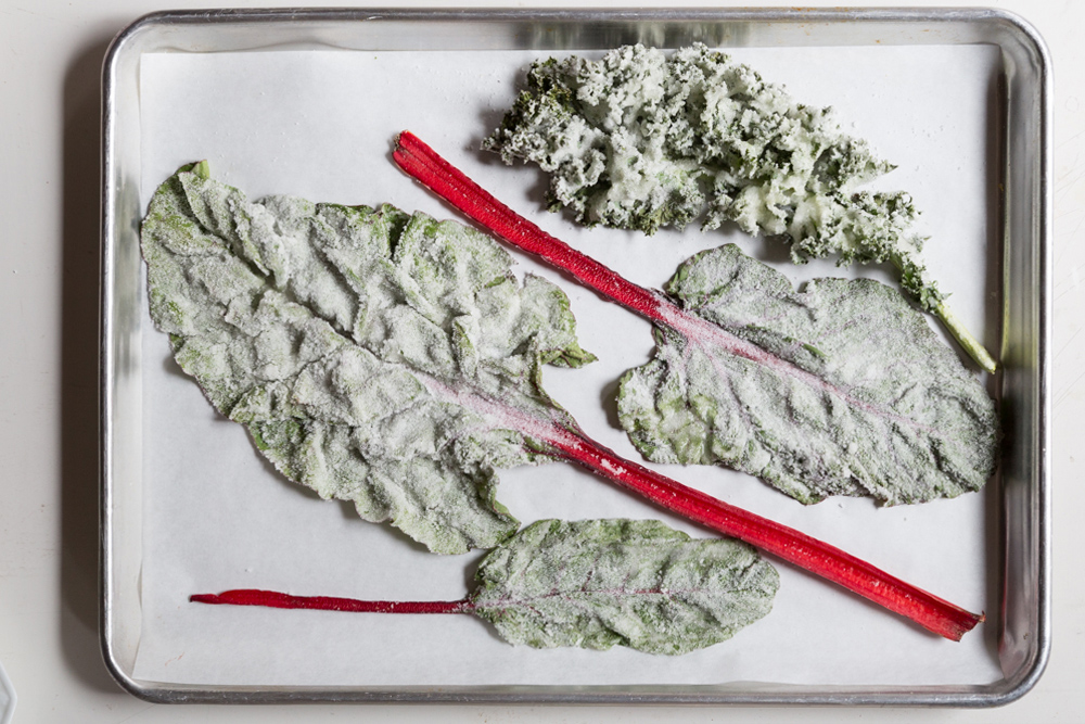 Will Cotton's Candied Kale Salad